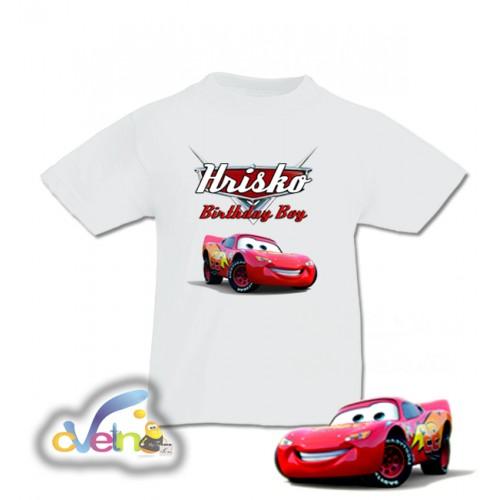Детска парти тениска Колите