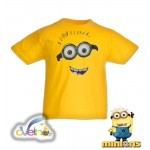 Миньони рисувана тениска  / Фил