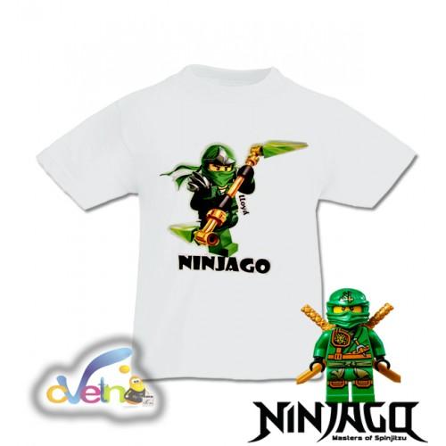 Детска  тениска Нинджаго / Лойд