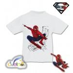Спайдър-Мен рисувана тениска