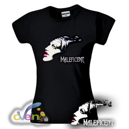 Рисувана тениска Maleficent